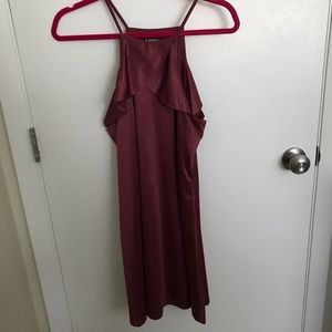 Satin Cocktail Dress from Express (Sz: S)